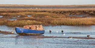 Norfolk fiskebåt Arkivfoto