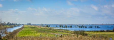 Norfolk Flooded Royalty Free Stock Image