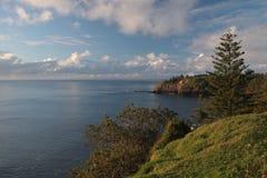 Norfolk-Inselküstenlinie 2 Stockbild