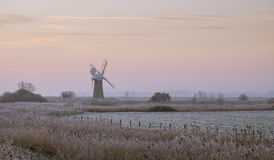 Norfolk Mill Stock Photography