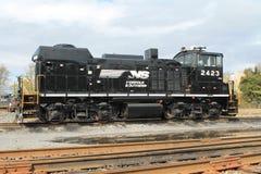 Norfolk Południowa lokomotywa 2423 zdjęcia royalty free