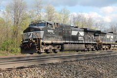 Norfolk Południowa lokomotywa 9952 Fotografia Stock