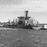 Norfolk sjö- skepp Royaltyfria Foton