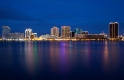 Norfolk Skyline royalty free stock photography
