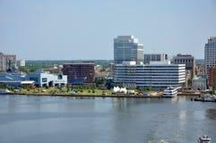 Norfolk Skyline, Virginia Royalty Free Stock Photography
