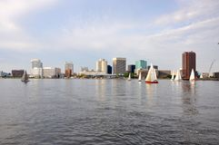 Norfolk Skyline, Virginia Royalty Free Stock Photos