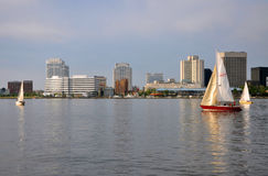 Norfolk Skyline, Virginia Royalty Free Stock Image