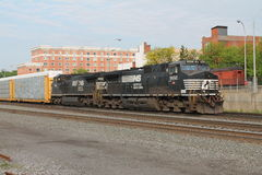 Norfolk Southern at Altoona PA Stock Photography