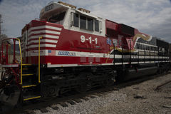Norfolk Southern 911. Norfolk Southern First Responders Royalty Free Stock Photos