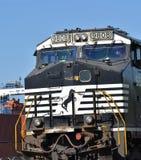 Norfolk Southern locomotive 9808 Royalty Free Stock Photo