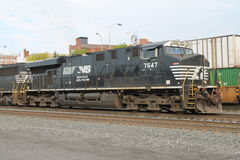 Norfolk Southern Locomotive 7647 Royalty Free Stock Image