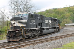 Norfolk Southern Locomotive 7200. Norfolk Southern Railroad Locomotive 7200 at South Fork PA Stock Photos