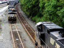 Norfolk Southern Railroad Stock Photography