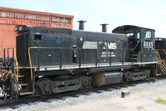 Norfolk Southern Railroad Locomotive 2225 at Altoona PA Royalty Free Stock Photos