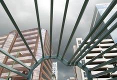 Norfolk stadsskyskrapor Royaltyfri Foto
