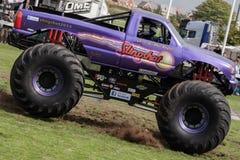 Monster Truck Slingshot in full speed action at Truckfest Stock Photos