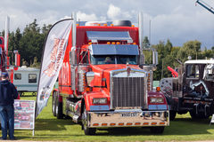 Perfect Kenworth red truck at truckfest 2017 Stock Photography