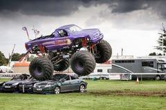 Monster Truck Slingshot at Truckfest Norwich UK 2017 Stock Photography