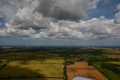 Norfolk van de Lucht die - naar de Kust vliegen Royalty-vrije Stock Fotografie