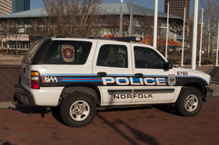 Norfolk Virginia Police Royalty-vrije Stock Foto's