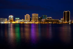 Norfolk Skyline Royalty Free Stock Images