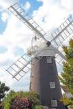 A Norfolk windmill. Royalty Free Stock Photos