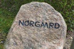 Norgaard Denemarken Royalty-vrije Stock Foto