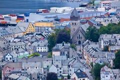 Norge - Alesund arkivfoton