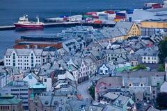 Norge - Alesund Royaltyfria Bilder