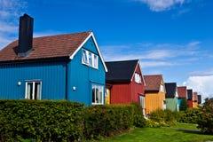 Norge - arkitektur Royaltyfri Bild