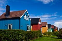 Norge - arkitektur arkivfoton