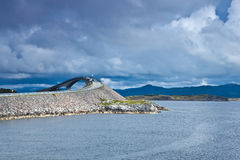 Norge - Atlanterhavsvegen royaltyfri fotografi
