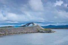 Norge - Atlanterhavsvegen royaltyfria bilder