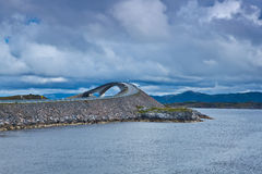 Norge - Atlanterhavsvegen royaltyfri bild