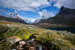 Norge - berglandskap royaltyfri bild