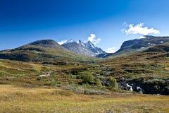 Norge - bergsikt Royaltyfri Bild
