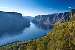 Norge - fjord arkivfoton