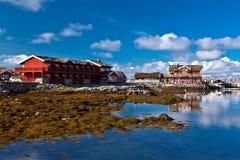 Norge - fjord reflexion Royaltyfria Bilder