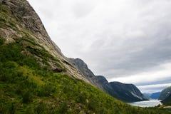 Norge fjordar Royaltyfri Bild