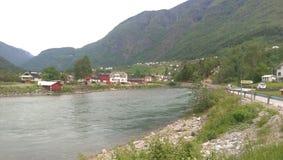 Norge fjordar Arkivbilder