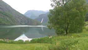 Norge fjordar Royaltyfri Fotografi
