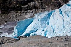 Norge - glaciär Royaltyfri Bild
