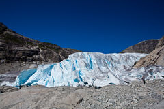 Norge - glaciär Royaltyfria Bilder