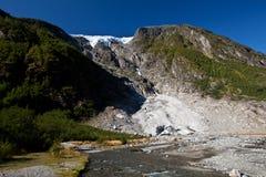 Norge - glaciär fotografering för bildbyråer