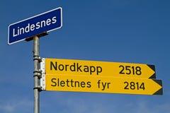 Norge korsning Royaltyfria Foton