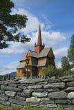 Norge kyrka Arkivfoton