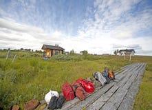 Norge landskap Arkivbild