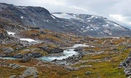 Norge liggande royaltyfri fotografi