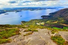 Norge liggande royaltyfri bild