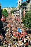 Norge nationell dag royaltyfria foton